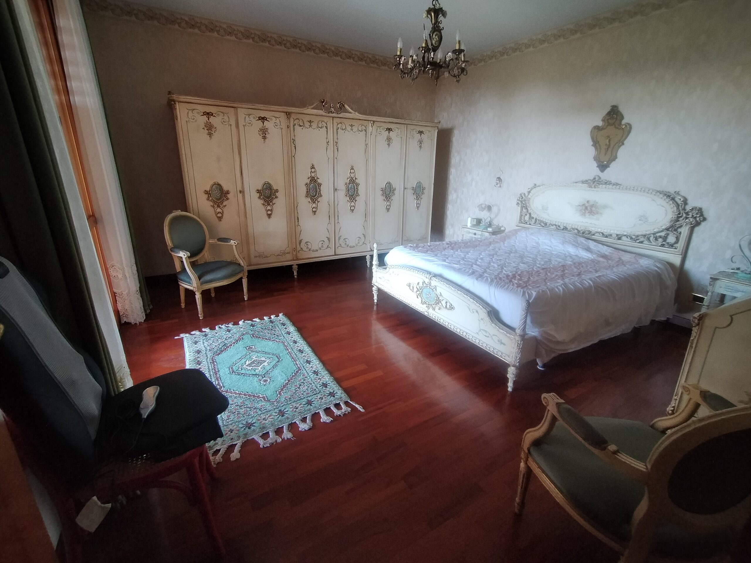 Villa signorile, panoramica a Cerza