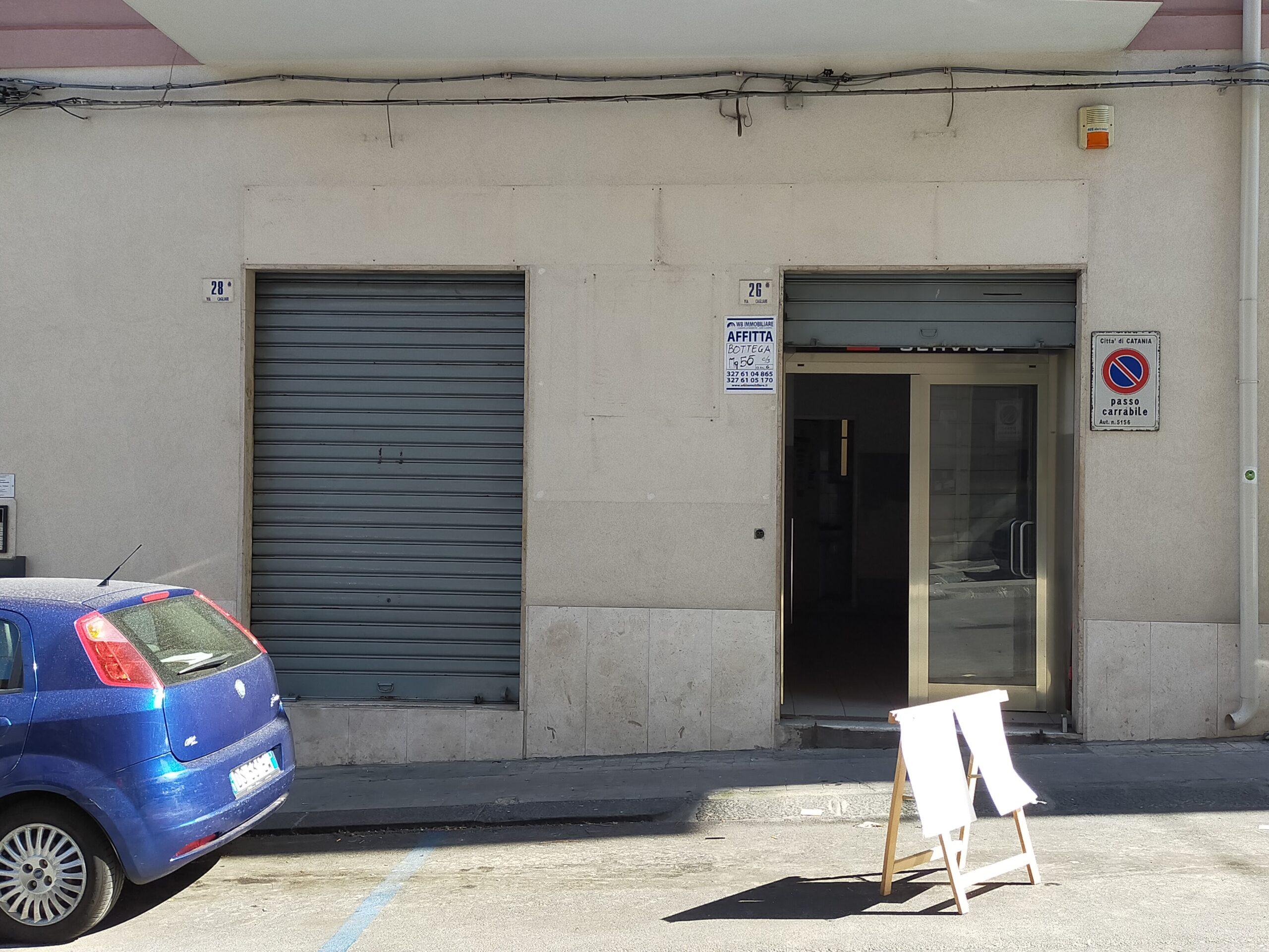 Centralissima Bottega 55 mq. Cagliari/Giuffrida Catania