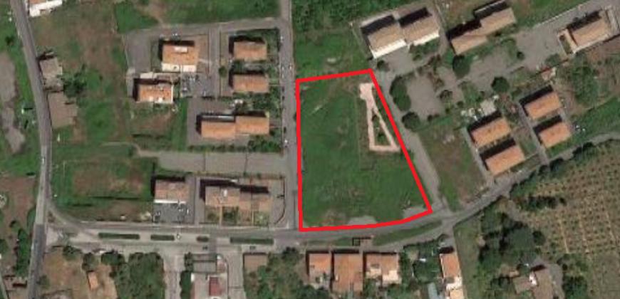 Giarre Terreno Edificabile 6.200 mq. in Zona C1