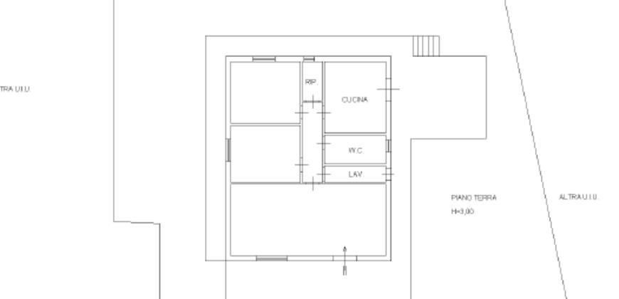 Pedara – Morgagni Appartamento in Villa con giardino